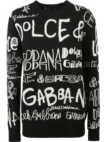 Dolce & Gabbana Logo Knit Sweater