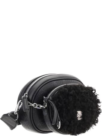 MCM Eco Fur Crossbody Small Bag