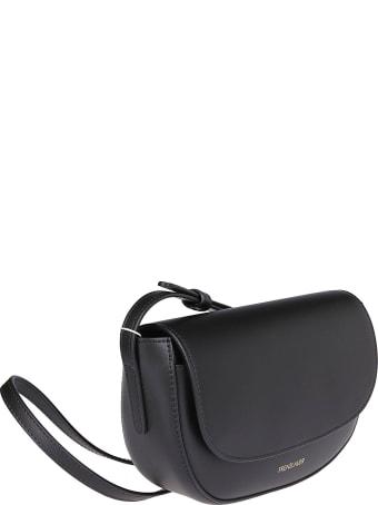 Frenzlauer Black Leather Swing Mini