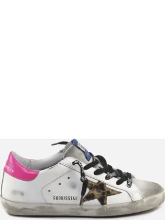 Golden Goose Superstar Classic Sneakers In Leather