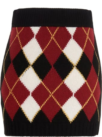 RED Valentino 'argyll' Skirt