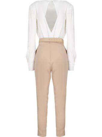 Elisabetta Franchi Bicolor Combined Suit