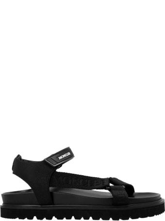 Moncler Black Sandals