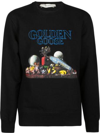 Golden Goose Logo Print Hoodie