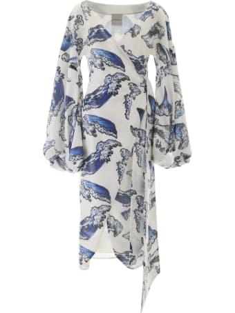 Halpern Sequined Dress
