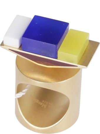Maison Margiela Multicolor Brass Ring