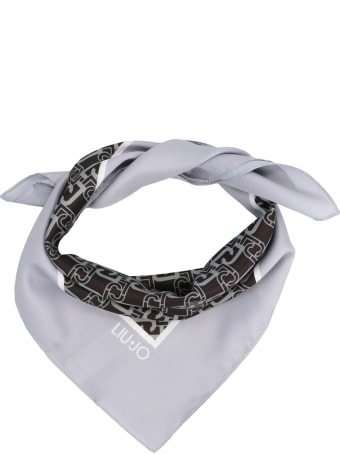 Liu-Jo 'logo Chain' Foulard
