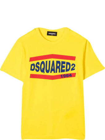 Dsquared2 Yellow Teen T-shirt