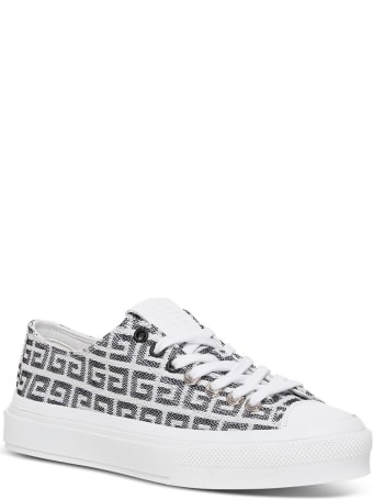 Givenchy 4g Jacquard City Sneakers