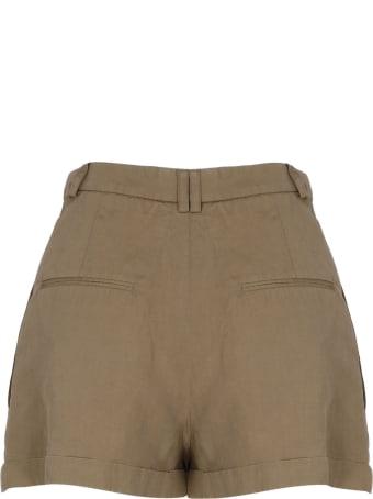 Saint Laurent High Waist Shorts