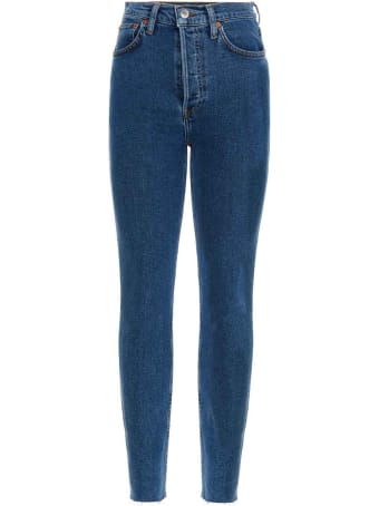 RE/DONE '90s High Rise Ankle Crop' Jeans