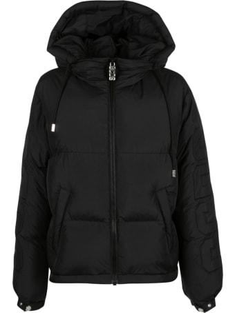 GCDS Hooded Zip Padded Jacket
