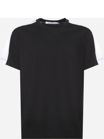 Calvin Klein Jeans Two-tone Organic Cotton T-shirt