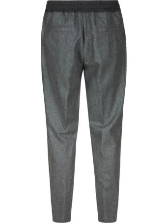 Moncler Ribbed Waist Track Pants