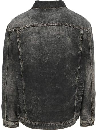 Y/Project Acid Washed Denim Jacket