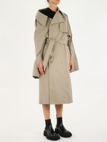 Balenciaga Raincoat Beige