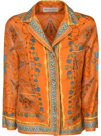Emilio Pucci Multi Print Shirt