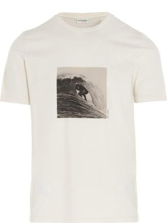 Saint Laurent 'surfer' T-shirt