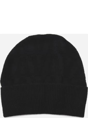 Valentino Garavani Beanie Hat In Wool And Cashmere