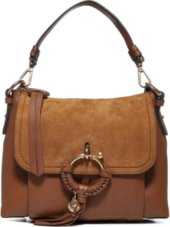 See by Chloé Joan Mini Leather And Suede Bag
