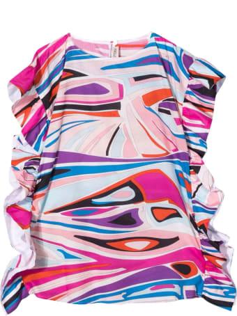 Emilio Pucci Girl Pink Dress