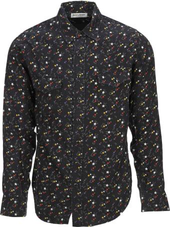 Saint Laurent Shirt Multi Stars