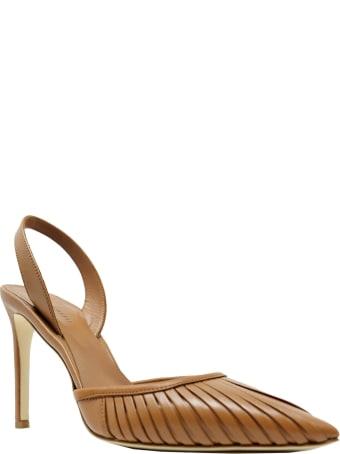 Del Carlo Roberto Del Carlo Tan Leather Sandals