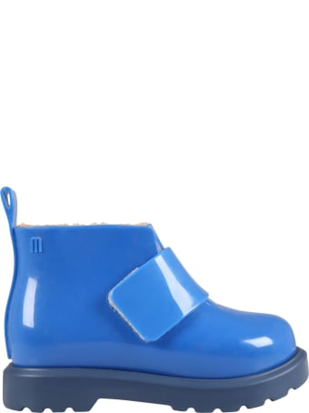 Melissa Blue Boots For Boy