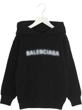 Balenciaga Blurry Logo Hoodie