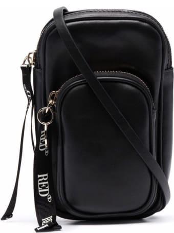 RED Valentino Smartphone Case In Black Leather