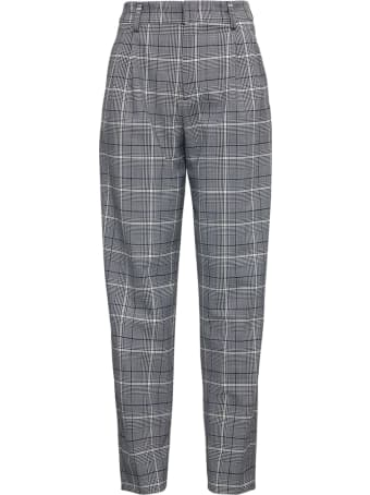 PT01 Glenn Plaid Wool Blend Trousers