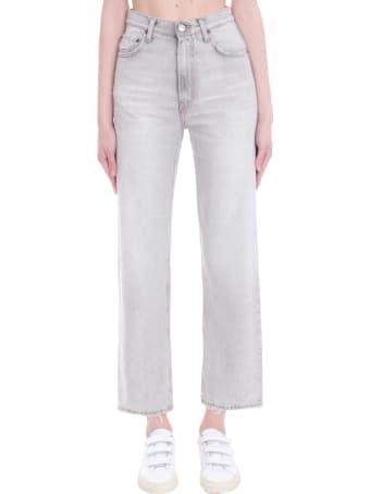 Haikure Virginia Pants In Grey Denim