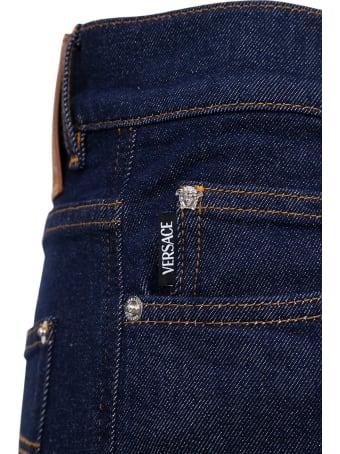 Versace Blue Denim Jeans