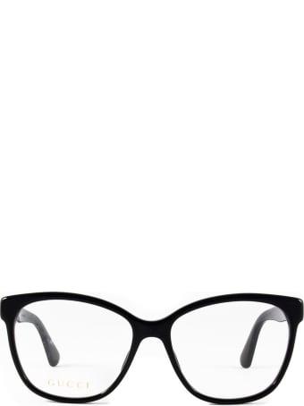 Gucci Gucci Gg0421o Black Glasses