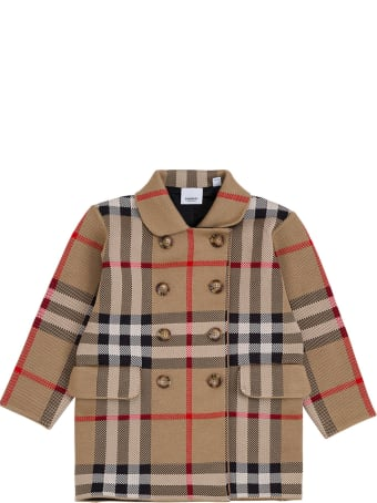 Burberry Cora Check Coats