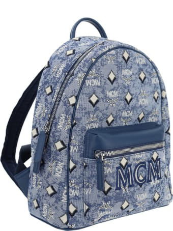 MCM Vintage Jacquard Backpack