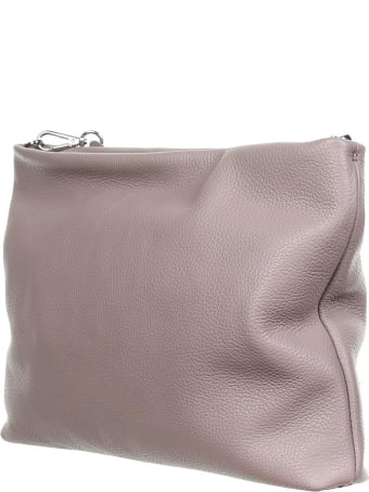 Gianni Chiarini Brenda Dove Gray Clutch Bag