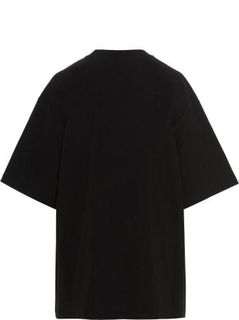 WE11 DONE 'mirror Logo' T-shirt