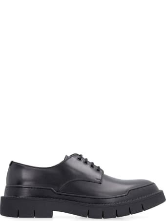 Salvatore Ferragamo Leather Lace-up Derby Shoes