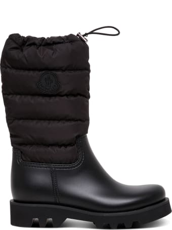 Moncler Ginette Quilted Rain Boots