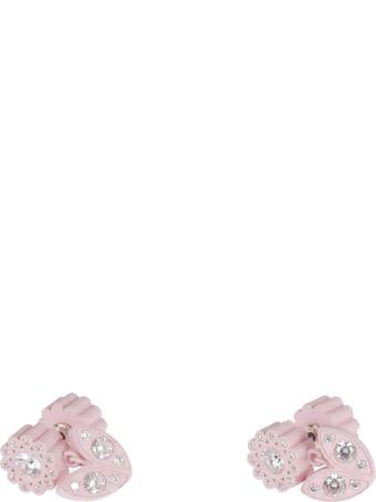 Bottega Veneta Arg Soft Touch Antique Earrings