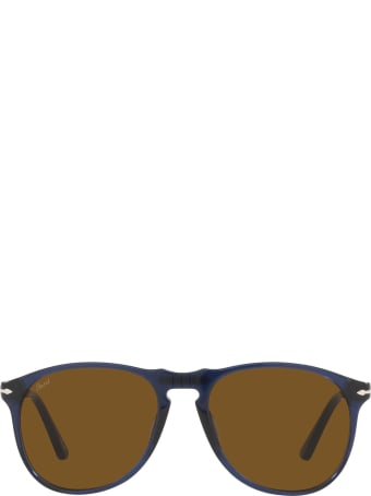 Persol Persol Po9649s Transparent Blue Sunglasses