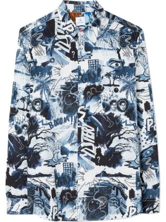 Paul Smith Mens Shirt Ls Regular Fit