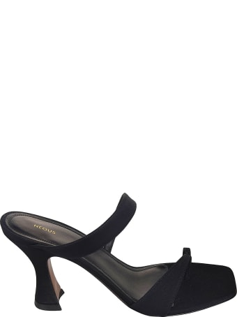 Neous 80mm Sandals Sika Grosgrain