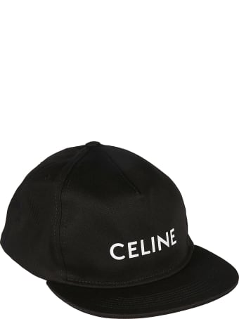 Celine Logo Print Cap