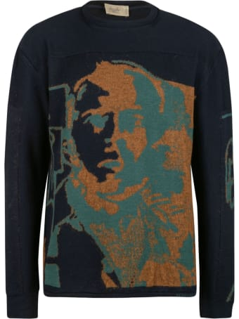 Maison Flaneur Embroidered Sweater