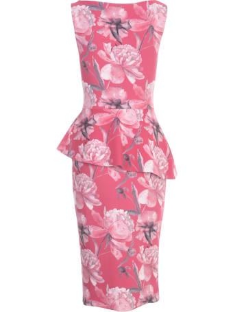 La Petit Robe Di Chiara Boni Boat Neck Sleeveless Dress