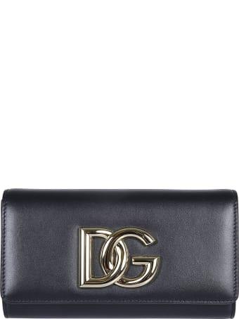 Dolce & Gabbana Logo Continental Wallet