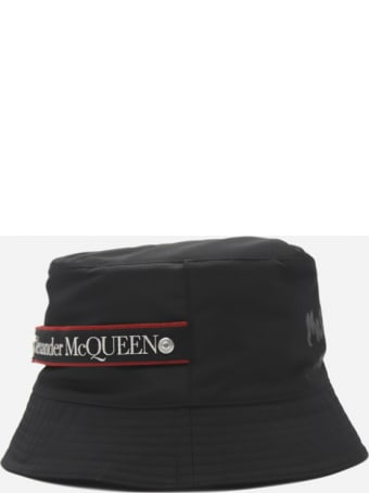 Alexander McQueen Technical Fabric Hat With Tone-on-tone Logo Print