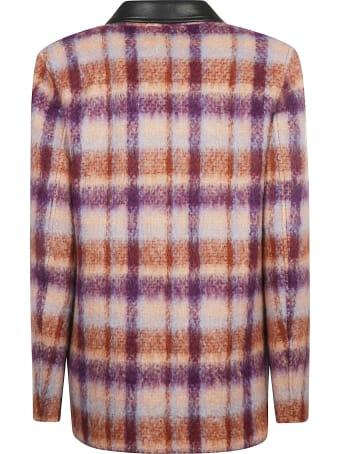 Alessandra Rich Brushed Tweed Jacket